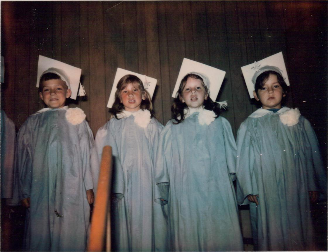 Lynne Graduates Kindergarten